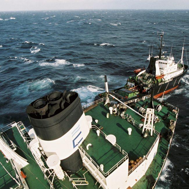 L'Erika, un pétrolier battant pavillon maltais (pavillon de complaisance)construit en 1975 a fait naufrage le 12 décembre 1999 au large de la Bretagne, lors d'un transport de 37 000 tonnes de fuel lourd en provenance de Dunkerque et à destination de Livourne (Italie). Le pétrolier sombre.