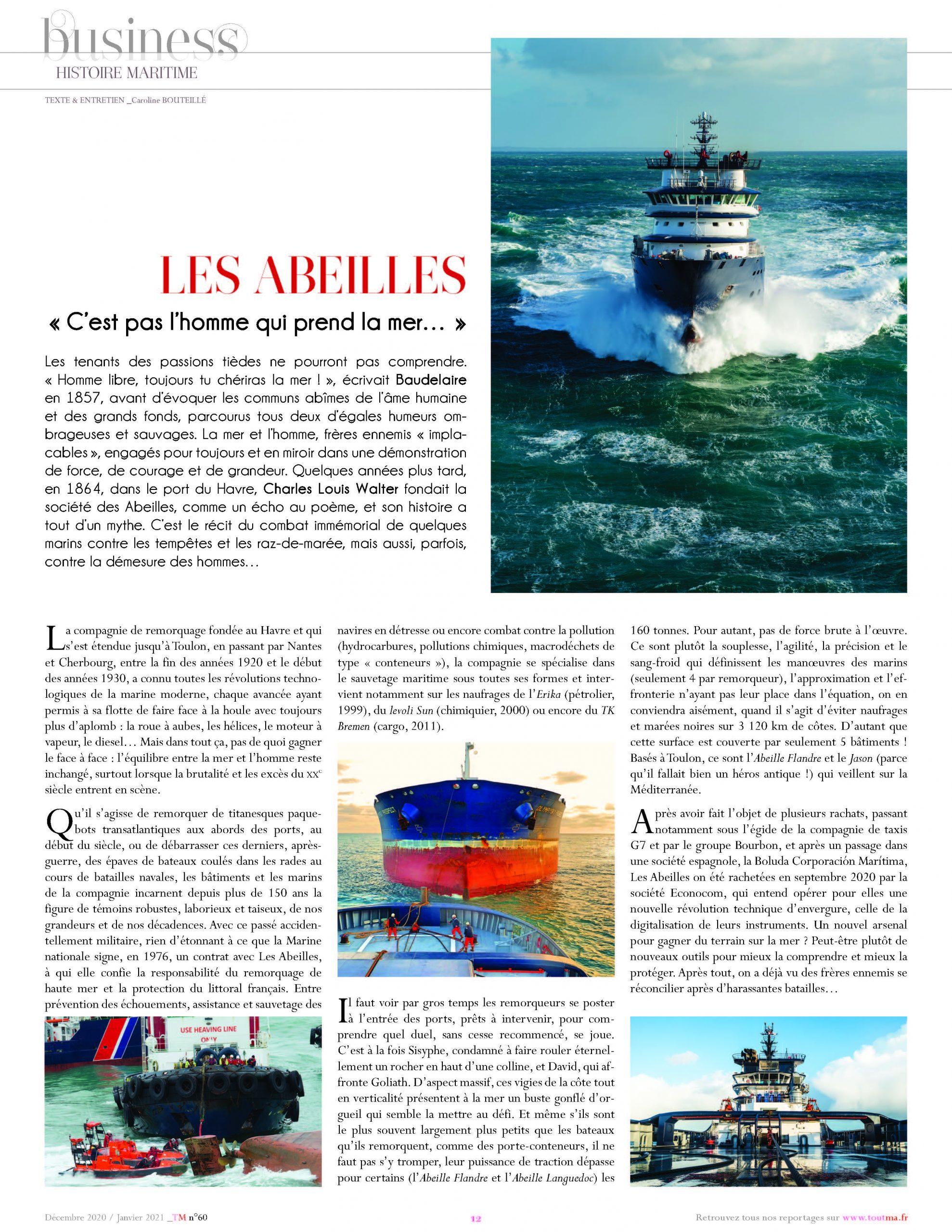 Interview Jean-Louis Bouchard – ToutMa – 08/12/2020