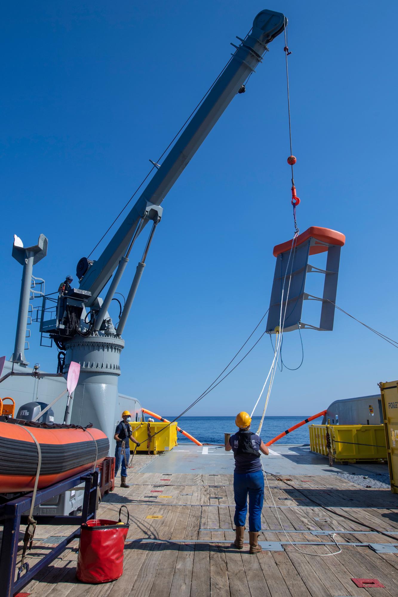 Opération antipollution Est Corse BSAA JASON juin 2021