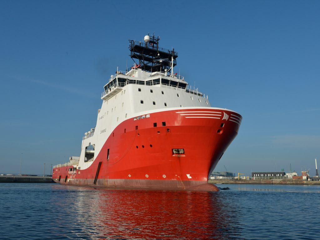 Diamond et Garnet quittent Le Havre