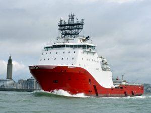 Le Garnett au départ du Havre